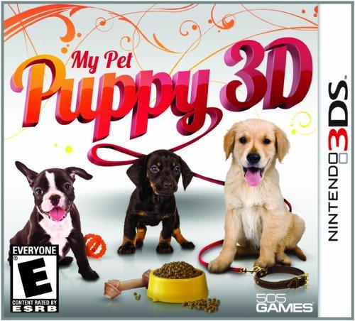 My Pet Puppy 3D - Nintendo 3DS