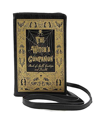 Sidecca Halloween Book Of Spells Crossbody Clutch Bag (Witch's Companion Book)]()
