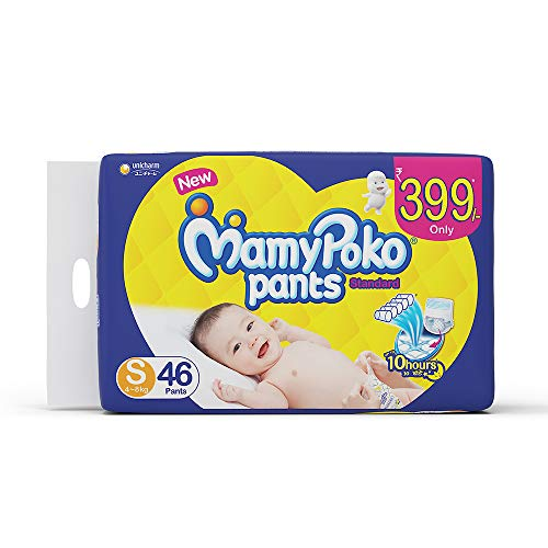 MamyPoko Pants Standard Diapers Small 46 Pieces