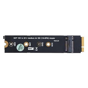 demiawaking M.2 NGFF SSD a 18 + 8Pin SSD adaptador conversor ...