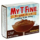 My T Fine Pudding, Sugar Free, Chocolate, 2.1-Ounce (Pack of 12)