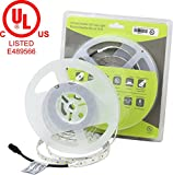 TECLED Eco+ Series LED Tape Light/Flexible Strip UL Listed Premium Quality 24v 576x2835SMD LEDs 16ft. 72W Non-Waterproof (Warm White 3000K) CRI>=80% 5 Years Warranty