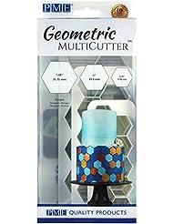 PME GMC104 Geometric Multicutter-Hexagon, Set of 3 Cake Design, White