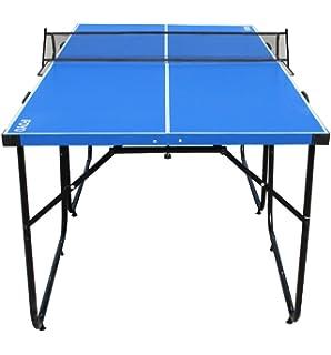 Relaxdays Klappbare Tischtennisplatte Hbt 71 X 150 X 67 Cm