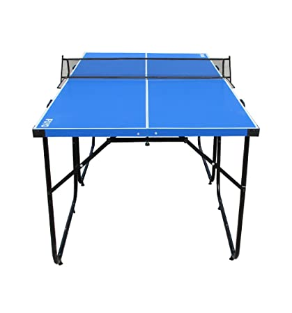 IFOYO Ping Pong Table, 6ft Table Tennis Table Compact 4 Piece Foldable  Portable Indoor