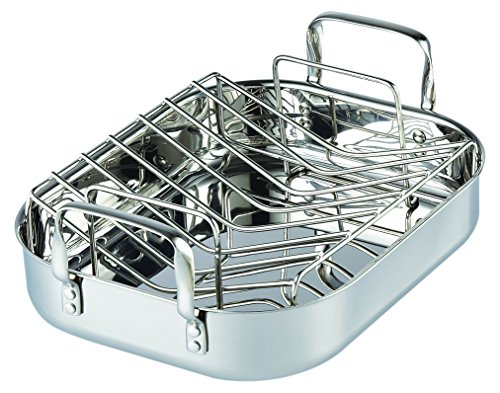Cooks-Standard-02448-Stainless-Steel-Roaster-with-rack-14-inch-by-12-inch