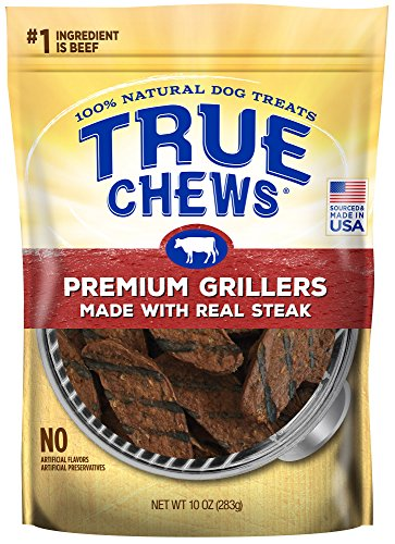 (True Chews Premium Grillers Made with Real Steak 10 oz)