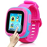 Game Smart Watch Of Kids, Girls Watch With Game,Kids Smartwatch With Game Wrist Watch Education Toys Boys Girls Gifts (Pink Joint blue)