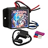 Huffy Davidson Lightning Strike High Performance 2-Stroke Motorized Bicycle CDI Ignition Coil – Gas Bike Electrical Ignition Upgrade