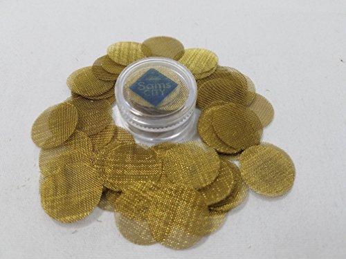 SAMSCITY-Quality-Brass-screens-100x-count-1316-inch-825-in-diameter-W-FREE-Jar