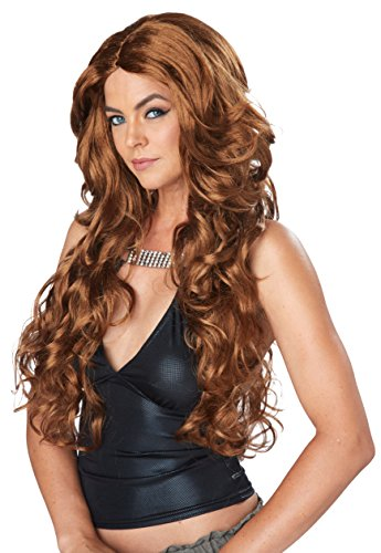 California Costumes Women's Celebrity Glam Wig, Light Brown, One Size (Celebrity Couples Halloween Costumes)