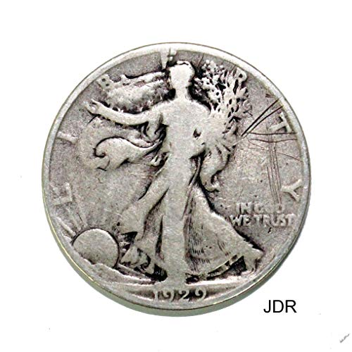 1929 S Walking Liberty Half Dollar Average ()