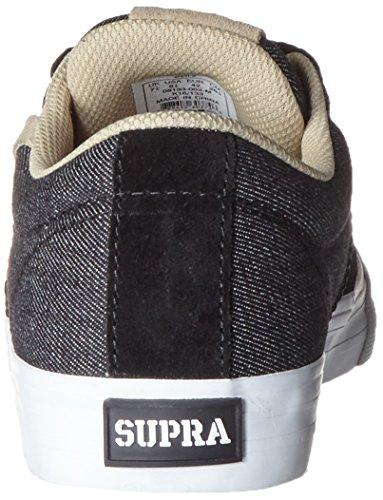 Supra Stacks II Skate Vulc Mens White Shoes Black rnZBrp