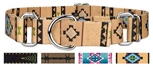 Picture of Country Brook Design Native Southwestern Martingale Dog Collar - XL