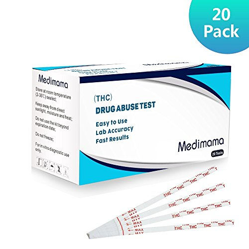 THC Test Marijuana Drug Test Strips THC Urine Drug Test Kit (20 Pack)