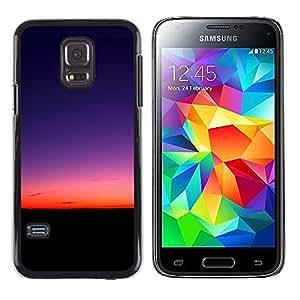 Stuss Case / Funda Carcasa protectora - The Rising Of The Sun - Samsung Galaxy S5 Mini, SM-G800
