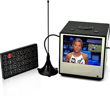 DVB-T 8,89 cm (3,5) Mini TV con función de grabación – DVB-T minifern seher – Mini de televisor: Amazon.es: Electrónica
