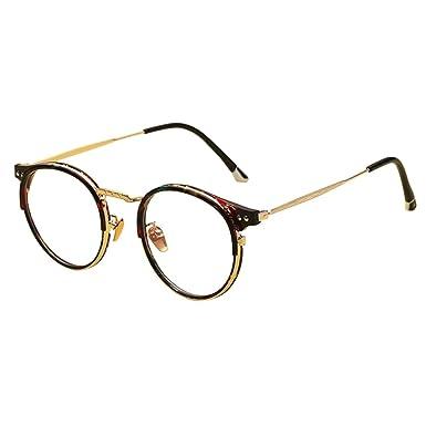 E Blaulichtfilter Brille Semi-randlos Retro Computer Rahmen Brillen Herren Damen St69uEdv