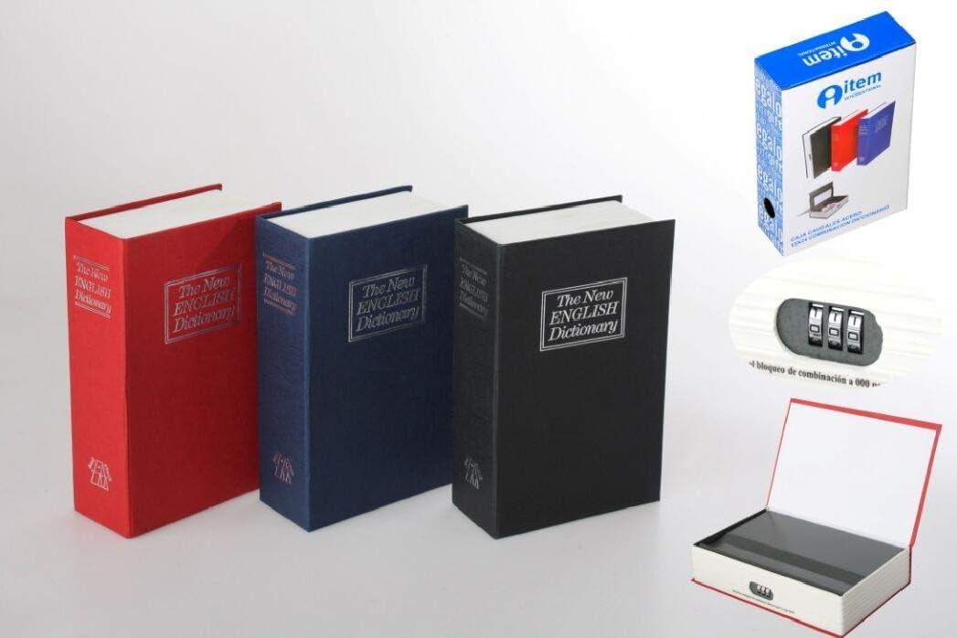 Libro diccionario caja de caudales con combinación: Amazon.es: Hogar