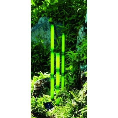 Bamboo Solar Light in US - 3