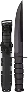 product image for KA-BAR Modified Tanto Fixed 8 in Blade Kraton Handle, Black, Model:1266