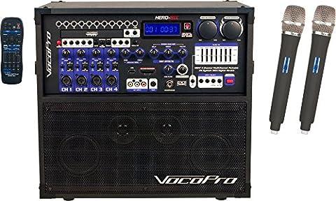VocoPro HEROREC5 Karaoke Player - 5 Disc Karaoke Player
