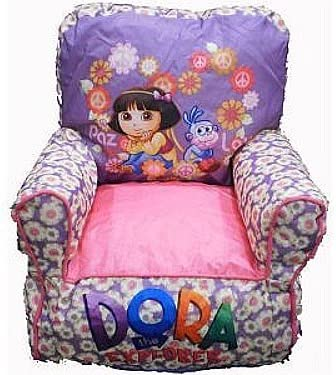 Groovy Amazon Com Dora The Explorer Bean Bag Chair For Girls Gamerscity Chair Design For Home Gamerscityorg