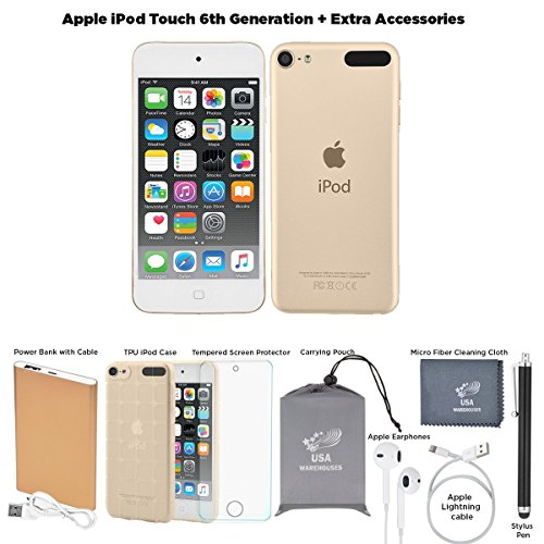 Apple iPod Touch 6th Generation and Accessories