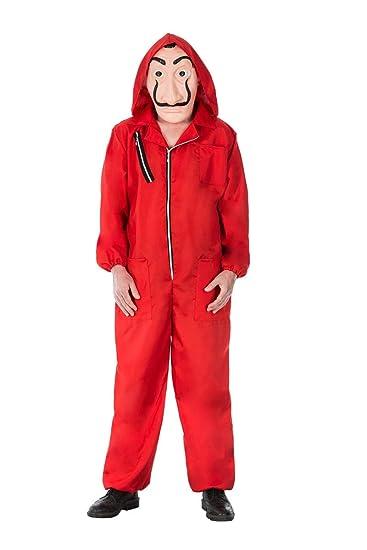 Disfraz de ladrón Rojo para los fanáticos de la casa del ...