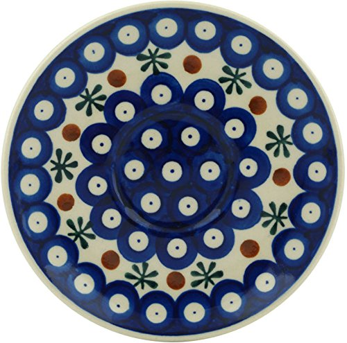 Polish Pottery Saucer 5-inch (Mosquito) by Polmedia Polish Pottery