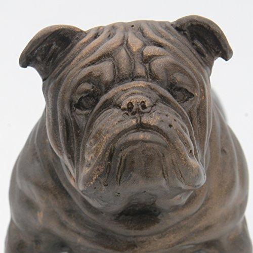 lifesize bulldog statue - 6