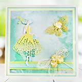 AkoMatial Cutting Dies, Scrapbook Mirror Design