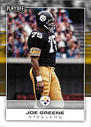 2805c4197 Amazon.com  2017 Panini Playoff  171 Joe Greene NM-MT Steelers ...