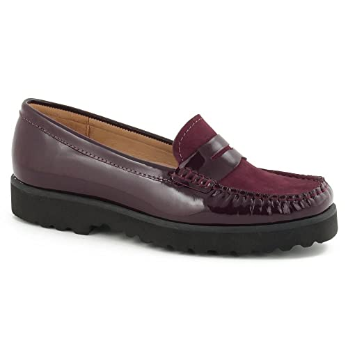 Shoon - Mocasines para mujer, color, talla 7 UK: Amazon.es: Zapatos y complementos