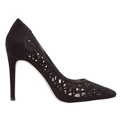 67cfbaa1001 BCBGeneration Women s Harrah Black Microsuede Sandal