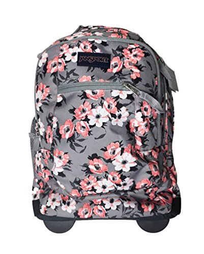 JanSport Driver 8 Backpack (One Size, Coral Sparkle Pretty Posey)