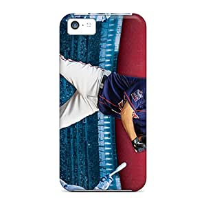 Iphone 5c SAU5448TkEm Support Personal Customs Vivid Minnesota Twins Pattern Scratch Resistant Hard Phone Case -JonathanMaedel