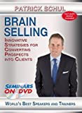 Brain Selling - Innovative Strategies for Converting Prospects into Clients - Seminars On Demand Sales Training Presentation Skills Video - Speaker Patrick Schul - Includes Streaming Video + DVD + Streaming Audio + MP3 Audio - Compatible with All Devices