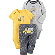 Carter's Baby Boys' 3 Piece Contruction Set 6 Months