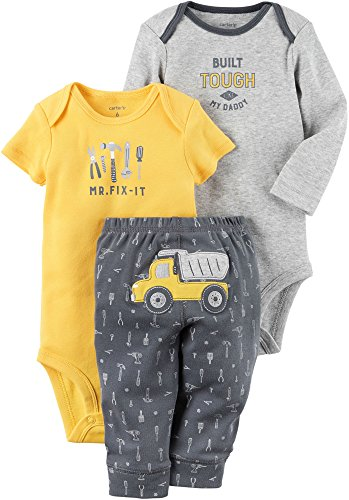 Carter's Baby Boys' 3 Piece Contruction Set Newborn