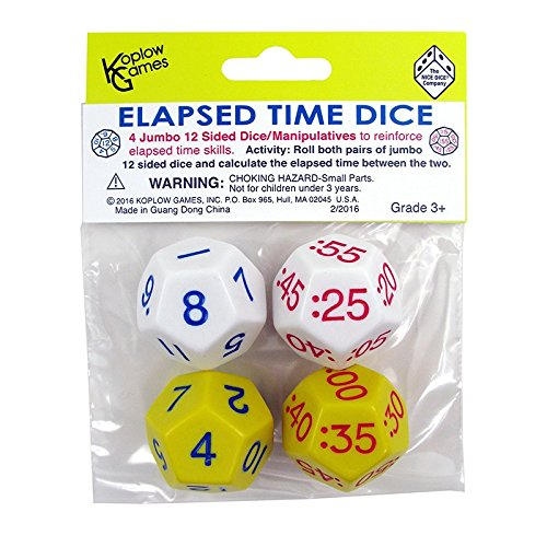 KOPLOW GAMES ELAPSED TIME DICE 2 PAIR