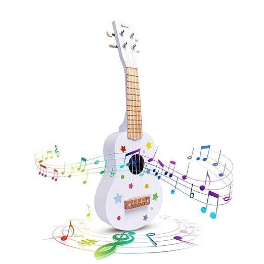 Volwco Guitarra de Ukelele de 21 Pulgadas para niños, Instrumento ...