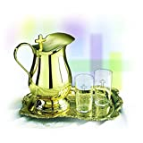 Brass Water Server Set