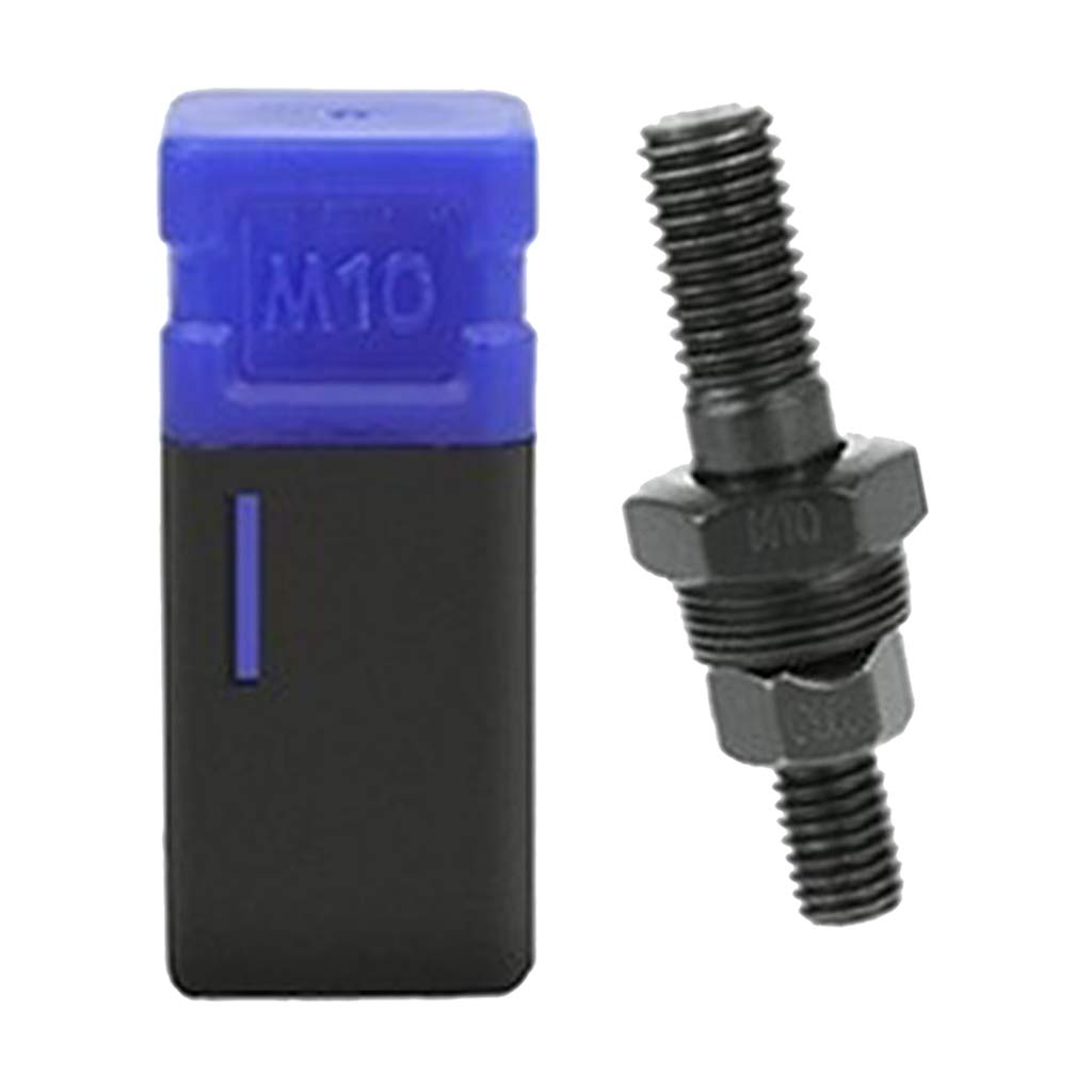 10-24 Tuerca de Remache Remachadora de Tuerca Manual de Acero de Ajusable para SAE 1//4-20 Acero M4 H HILABEE Pistola Remachadora