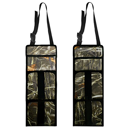 Read About SUMERSHA 2 Pack Car Seat Back Gun Sling Organizer with Pockets or Rifle Hunting Camo Outd...