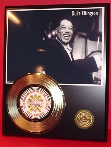 Duke Ellington 24Kt Gold Record LTD Edition - Outlet Ellington