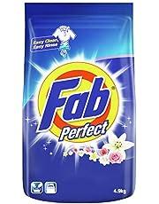 Fab Perfect Powder Detergent, Regular, 4.9kg