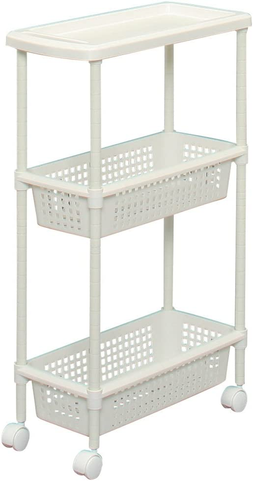 Laundry Cart/Kitchen Cart for Narrow Space MKW-3S