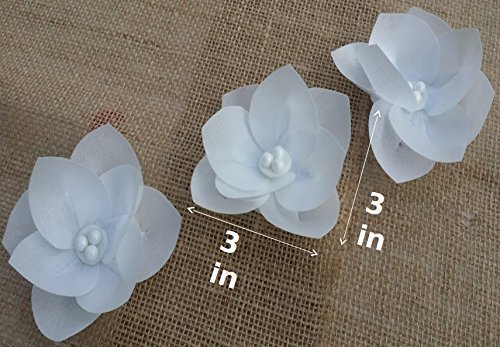 Amazon 3d edible rice paper flowers for cake decoration 3d edible rice paper flowers for cake decoration cupcake toppers set of 3 mightylinksfo