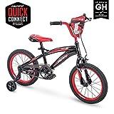 """Huffy 16"""" MotoX Boys Bike, Gloss Black"""
